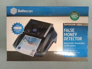 Detector de billetes falsos 3 divisas con batería