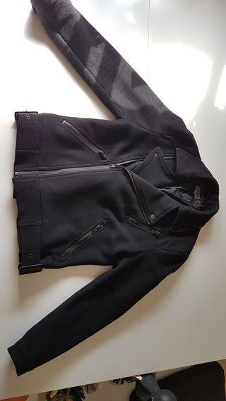 abrigo cazadora de paño H&M