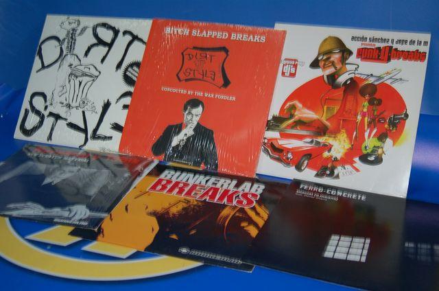 Vinilo Lote de 6 LPS Breaks SCRATCH singles