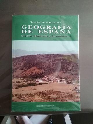Libro geografía de España . UNED