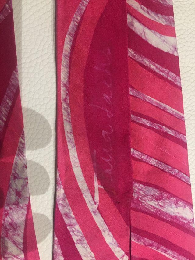 Corbata de autor TANA SACHS seda