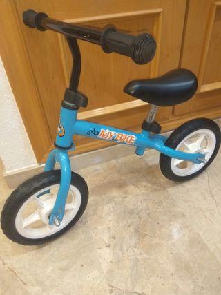 Bici sin ruedas infantil