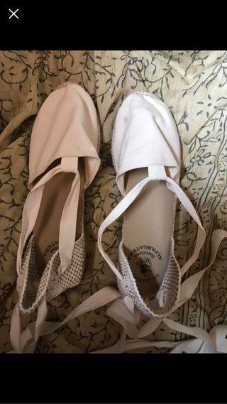 Sandalias con cuerda