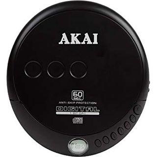 Reproductor CD Akai A61007 portatil.