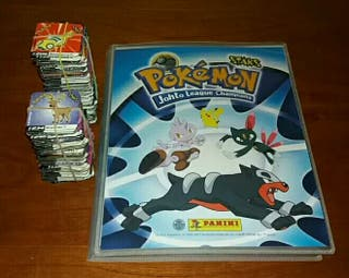 CAMBIO STAKS (IMANES) POKEMON JOHTO LEAGUE CHAMPIO