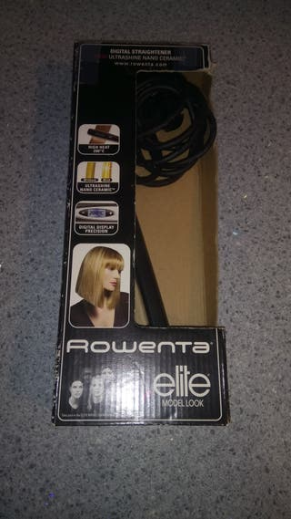 Plancha para el pelo Rowenta Elite Model Look