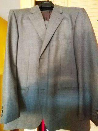 Usado, Traje gris de caballero BIFFI talla 56 segunda mano  España