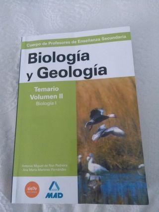 TEMARIO BIOLOGIA Y GEOLOGIA