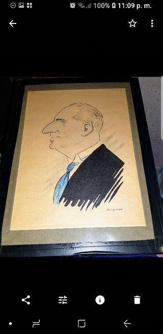 Caricatura Original D. Juan de Borbón