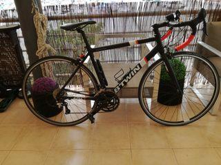 Bicicleta M carretera seminueva. plato:50/39/30,