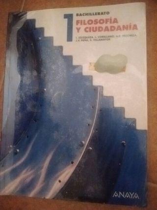 Libro 1°bach Filosofía y Ciudadanía