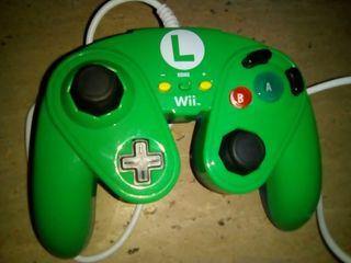 Mando pro wii/wii u edición especial Luigi