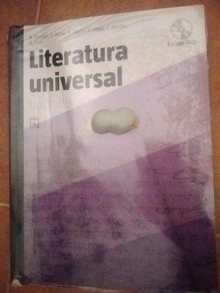 Libro bachillerato Literatura Universal
