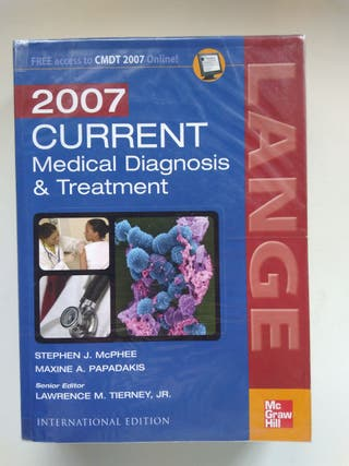 CMDT Current medical diagnosis & treatment 2007