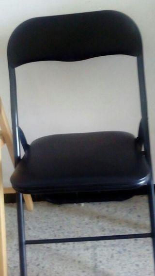 vendo 3 sillas negras