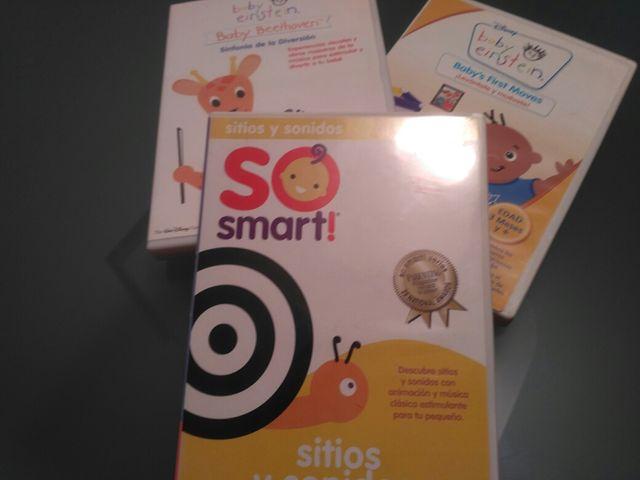 90c954347 3 CD de baby Einsten para niños de 0-36 meses de segunda mano por 5 ...