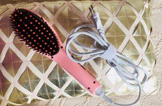 Cepillo alisador de pelo eléctrico Icas4u