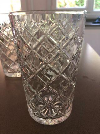 Cristalería vasos refresco
