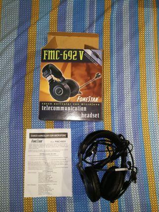 Casco auricular con Micrófono