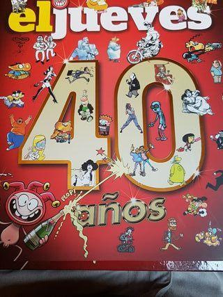 El jueves 40años