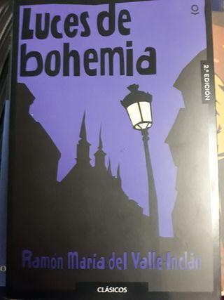 Libro 'Luces de bohemia'