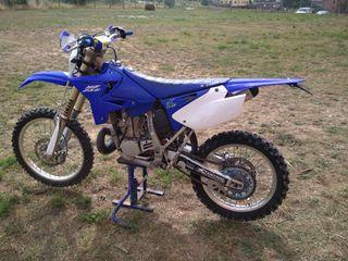 Yamaha yz 250 matriculada