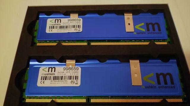 Memoria ram ddr3 1600 12800 4gb mushkin