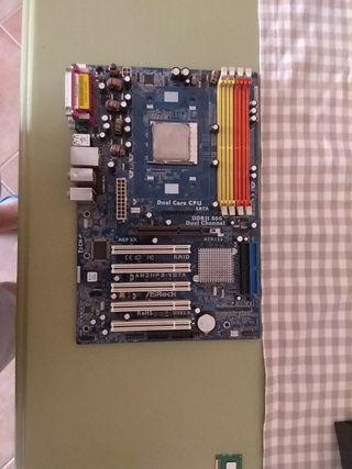 placa base con procesador amd