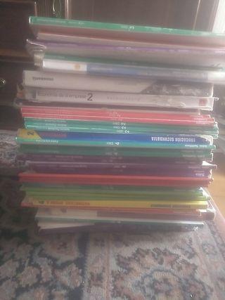 libros de ESO y bachillerato