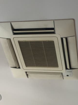 Cassette de techo acondicionado frío/ calor daikin