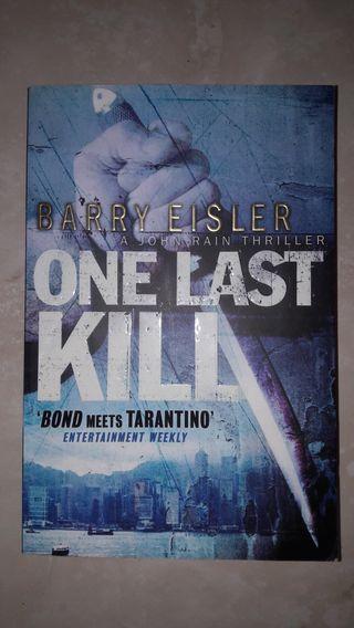 Libro en inglés thriller