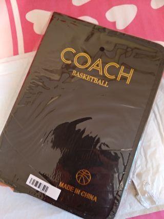 pizarra entrenador baloncesto