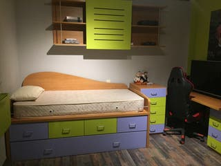 Dormitorio juvenil completo de segunda mano por 500 en - Dormitorio juvenil completo ...