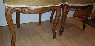 sillas vintage en perfecto estado