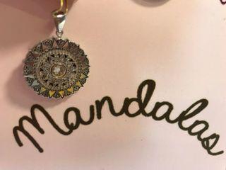 Colgante Mandala Plata