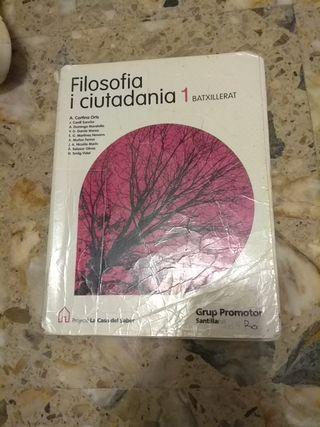 libro filosofia 1 bachillerato