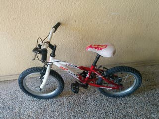Bicicleta de 16 pulgadas para niño