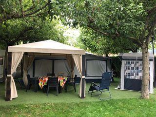 caravana instaladas en camping de segunda mano en wallapop