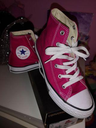 zapatillas 25 niña converse