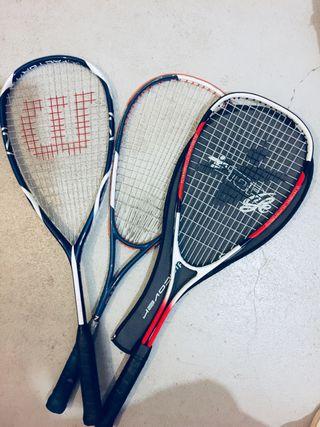 Raquetas,