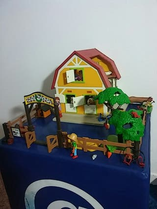 GRANJA DE PONIS. Playmobil