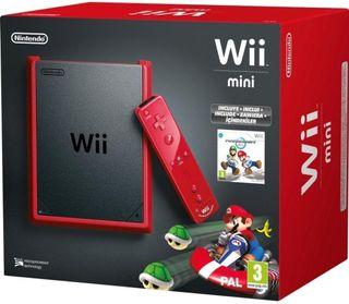 Wii MINI + JUEGOS + ACCESORIOS