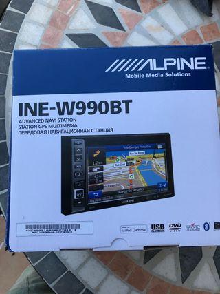 Receptor GPS ALPINE