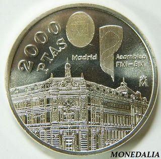 MONEDA DE 2000 PESETAS 1994