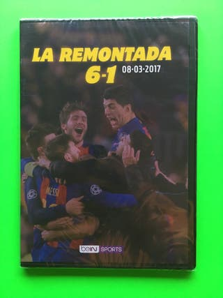 Dvd Barcelona 6-1 PSG