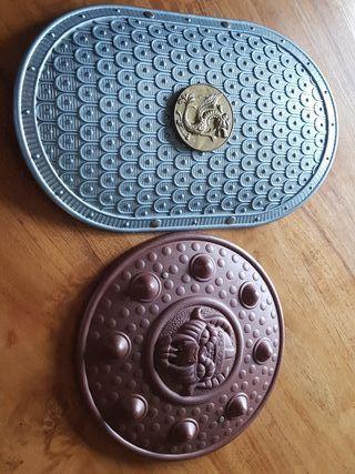 Escudos de Guerrero. Accesorio Disfraz.