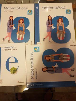 libros matematicas 6 de primaria