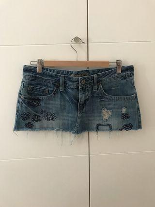 Minifalda tejana