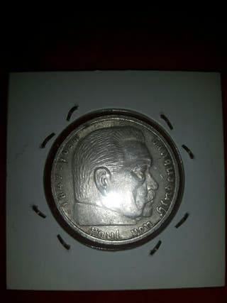 moneda plata alemania