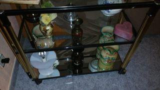 mesa vitrina